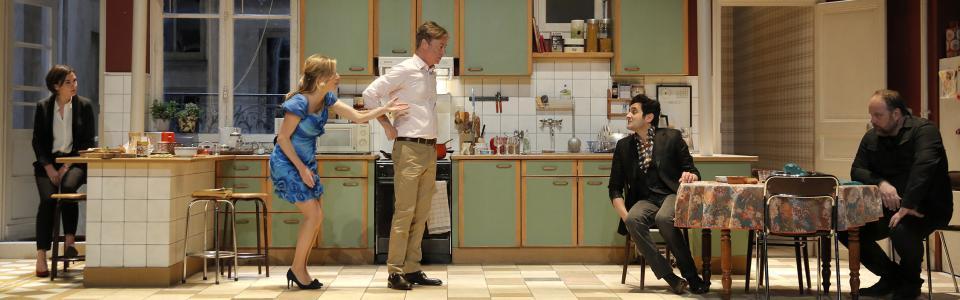 Cuisine et d pendances un air de famille l avant sc ne for Theatre cuisine et dependance